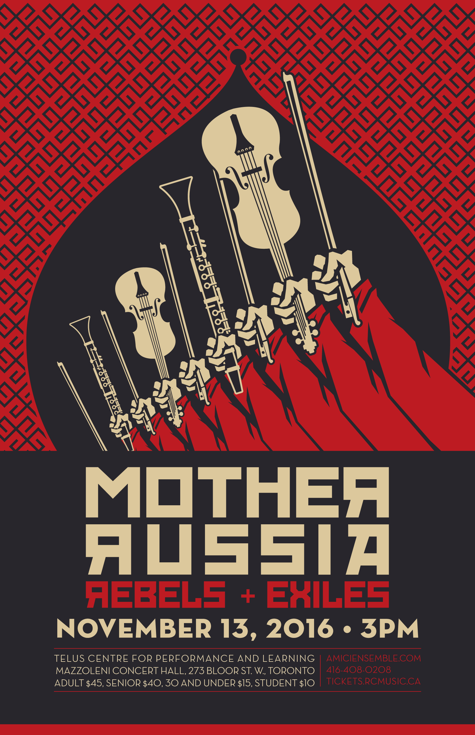 mother russia � rebels exiles � amici chamber ensemble